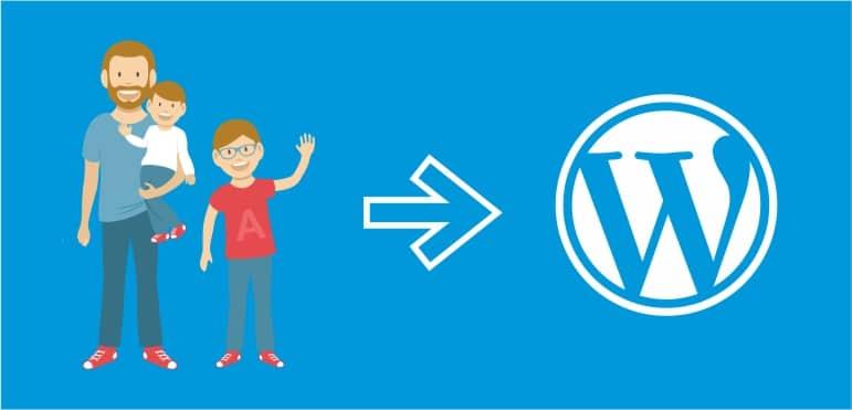 Tema Filho no Wordpress